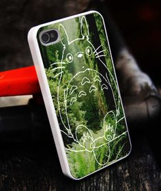 Colorful totoro Pokemon iPhone 5S caseiphone 5 by tigerredcase, $14.97