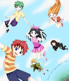 Phineas and Ferb - Anime! This is AWESOME...EXCEPT it lacks Perry