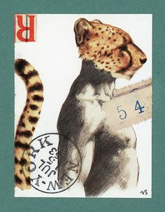 'Leopard 54' by Nick Bantock.