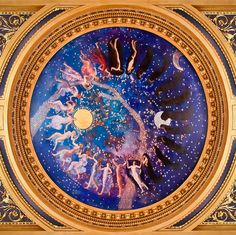 Mandala - Edwin Austin Abbey, Passage of the Hours