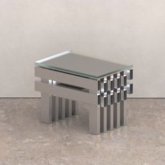 Square Side Table, Stool Chair, Industrial Style, Furniture Design, Interior Design, Living Room, Furnitures, Seoul, Skincare