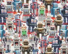 Digital print robots