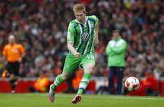 Kevin de Bruyne bei VfL Wolfsburg, attacking midfielder, Belgium