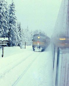 CANADIAN PACIFIC RAILWAY Winter rail travel in Canada