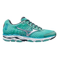Be inspired to take your runs to the next level in the newly updated Womens Mizuno Wave Inspire 11