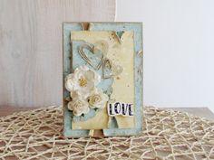 Kartka walentynkowa - LOVE