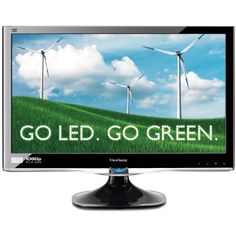 ViewSonic VX2250WM-LED 22-Inch (21.5-Inch Vis) Widescreen Full HD 1080p LED Monitor with Integrated Stereo Speakers (Electronics)