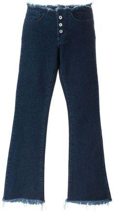 Marques'almeida bootcut jeans