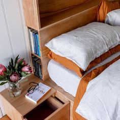 Al and Imo Custom Timber Furniture Timber Furniture, Pallet Furniture, Custom Furniture, Furniture Ideas, Timber Bed Frames, Timber Beds, Bed Headboard Storage, Headboards For Beds, Minimalist Bed Frame