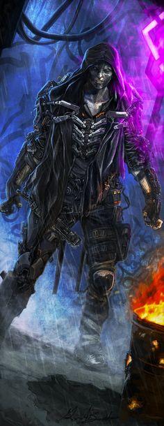 SR5 Chrome Flesh Ghoul by django-red.deviantart.com on @DeviantArt
