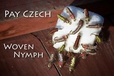 Pay Czech - Woven Nymph Fly Tying Instructions