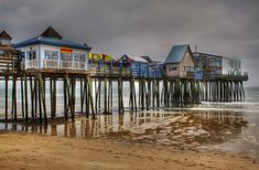 Old Orchard Beach Pier - Old Orchard Beach, Maine