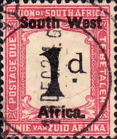 South West Africa 1923 Postage Dues SG D7 English Fine Mint SG D7 Scott J27a Other British Commonwealth Stamps for sale here