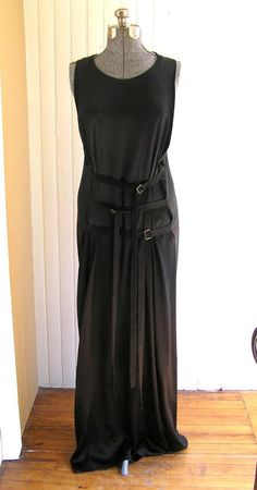 The warmer weather will be here soon! (we hope) Pick up this superb vintage Ann Demeulemeester bondage dress at LOOK Apparel and Accessories, 608 Warren Street in Hudson.