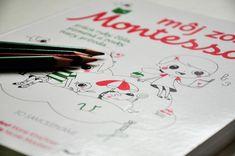 Úlohových kníh podľa Montessori pedagogiky niekdy nie je dosť. Môj zošit Montessori precvičuje najmä písanie písmen. Prečítajte si recenziu na blogu odetskychknihach.sk. Montessori, Playing Cards, Container, Blog, Playing Card Games, Blogging, Game Cards, Playing Card