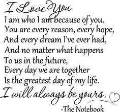 I will always love you!! P, I truly am who I am because of you.