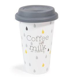 Cute Coffee Cups, Coffee Milk, Cute Mugs, Milk Tea, Deco Paris, Thermal Cup, Beer Mugs, Blog Deco, Champagne Flutes