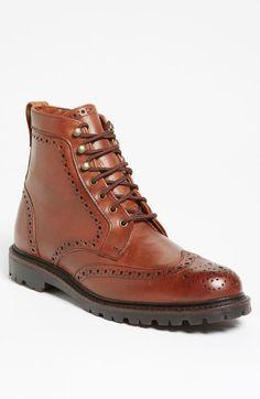 Frye wingtip boot