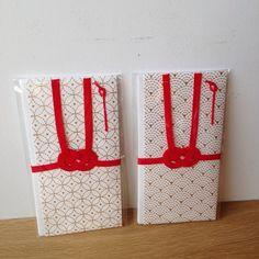 美濃和紙 箔押し金封 Japanese New Year, Japanese Colors, Wedding Envelopes, Packaging Design, Calendar, Holiday Decor, Home Decor, Decoration Home, Wedding Wraps
