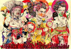 Sketchbook inspiration: Ryan Humphrey paints in his moleskine with pencils