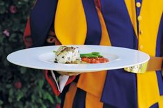 A new recipe book contains foods made for the Pope and his Swiss guards.