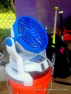 Artic-Cove fan. We got one of these last year for the team and they loved it.