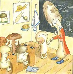 Mushroom School by Ida Bohatta-Morpurgo