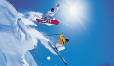Snowboarding for Beginners - Skiing Vs. Snowboarding for Beginners - ? Upstate New York, Snowbird Resort, Snowboarding For Beginners, Utah Ski Resorts, Skate, Hiking Club, Lake George Village, Moto Cross, Outdoor Men