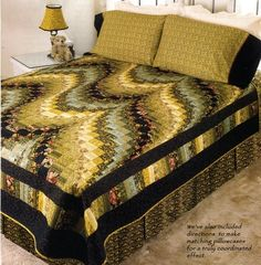Long and Winding Road Bargello Quilt - I never wanted to make a Bargello quilt until I saw this