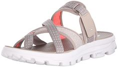 Skechers Performance Womens Go Walk Move-Relax Sandal, Taupe, 5 M US Skechers http://www.amazon.com/dp/B011PA33S4/ref=cm_sw_r_pi_dp_jHvbxb1Q9M1TV