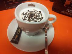 El arte del café.
