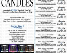 jewelry in candles flyer - Google Search