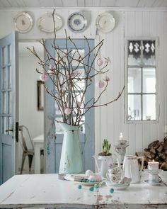 Duck Egg Blue Cottage Chic                                                                                                                                                                                 More