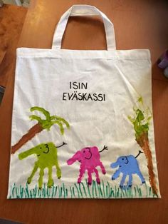 Facesta löytynyt Diy And Crafts, Crafts For Kids, Mother And Father, Kids And Parenting, Fathers Day Gifts, Reusable Tote Bags, Crafts For Children, Crafts For Toddlers, Father's Day Gifts