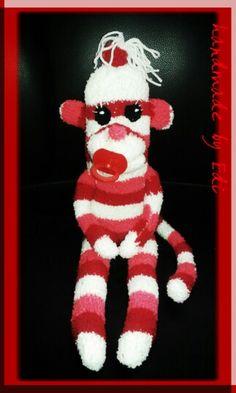 Majmocska zoknibol-sock monkey