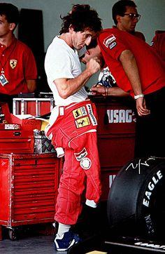 ALAIN PROST Ferrari Racing, Ferrari F1, F1 Racing, Alain Prost, Le Mans, Grand Prix, Ferrari Scuderia, F1 Drivers, Car And Driver