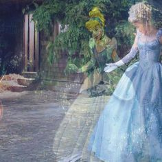 Cinderella from Disney and OUAT.  So beautiful, I just don't know what board to put it on...