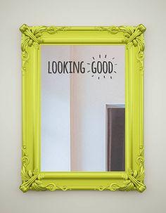 complimentary mirror stickers by oakdene designs   notonthehighstreet.com