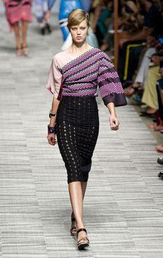 Milan Fashion Week Spring 2014 Runway Looks - Best Milan Runway Fashion - Harper's BAZAAR