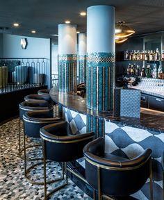 Exclusive Restaurant Design  #estateluxury #luxuryinterior #moderninteriordesign @brabbu