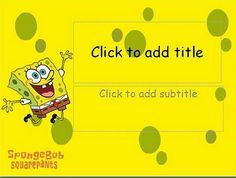 Simple and special anime/cartoon template, Spongebob Squarepants background, 2 different Spongebob Squarepants background, special background for title slide, default and standard font, compatible for many kind presentation, easy to use.