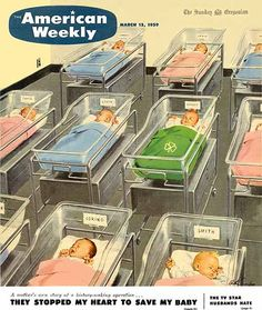American Weekly, 1959 So I guess this was how I was displayed when I was born. LOL !