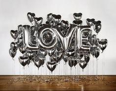 Balloon Love wedding decoration letters block hearts