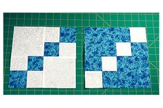Try this Double Four Patch quilt block pattern to sew quilt blocks with reverse pathways. Make a batch to experiment with layout possibilities.