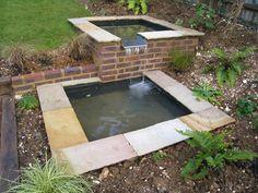 Formal Ponds and Rills - Fairwater Ltd Raised Pond, Pond Life, Ponds, Garden Inspiration, Tub, Gardens, Formal, Outdoor Decor, Home Decor