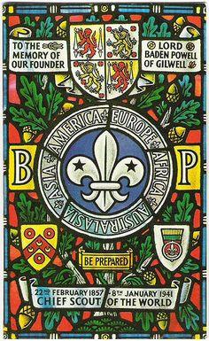Baden-Powell Gilwell Park Window Badge