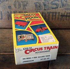 Vintage The Great Circus Train HO Scale 1921 Model by MADVintology