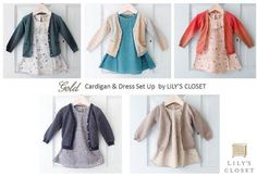 Gold 2012 SPRING & SUMMER   Cardigan & Dress By LILY'S CLOSET