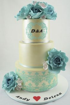 Daily Wedding Cake Inspiration