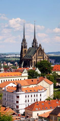 Famous Cathedral of St. Peter and Paul in Brno, Czech Republic | 22 Reasons why Czech Republic must be in the Top of your Bucket List